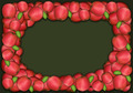 Autumn and thanksgiving apple frame on green background - PhotoDune Item for Sale