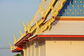 Roof of beautiful Thai Buddhism temple - PhotoDune Item for Sale