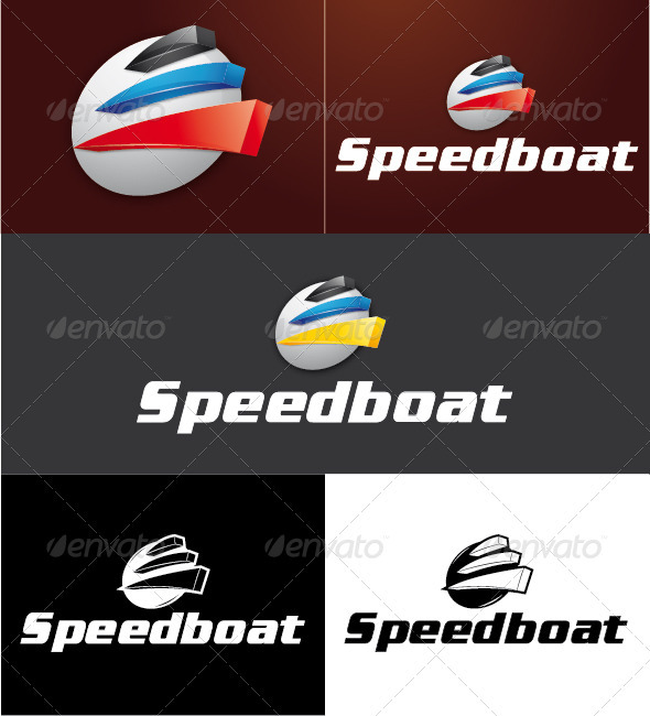 Speed Boat Logo - Symbols Logo Templates