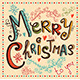 Vintage Vector Christmas card - GraphicRiver Item for Sale