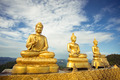 Three buddhas against the sky - PhotoDune Item for Sale
