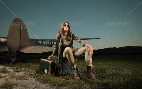 Travel woman - Stock Photo - Images
