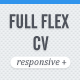 FULL FLEX CV - Fully Responsive HTML5 Resume - ThemeForest Item for Sale
