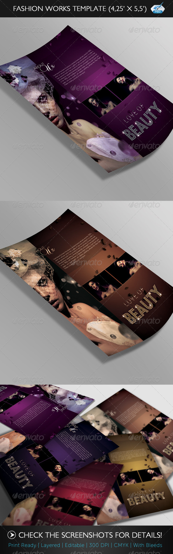 GraphicRiver Fashion Works Flyer Template 237382