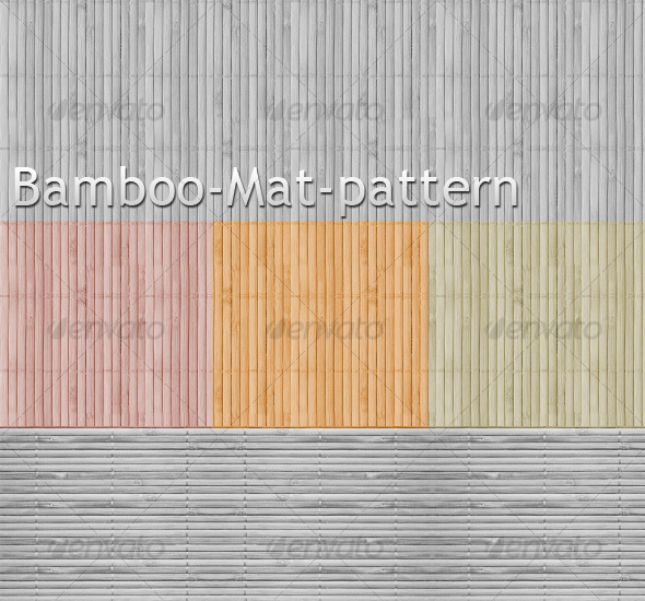 Bamboo Mat Pattern background  - Textures / Fills / Patterns Photoshop