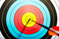 Arrows in archery target - PhotoDune Item for Sale