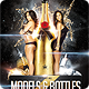 Models And Bottles Flyer Template - GraphicRiver Item for Sale