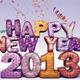 HAPPY NEW YEAR 2013 - GraphicRiver Item for Sale