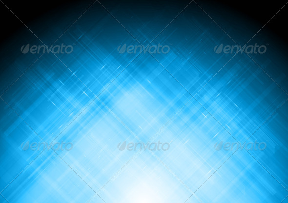 Abstract blue backdrop - Backgrounds Decorative
