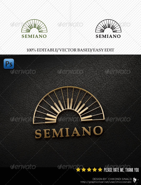 Semiano Logo Template - Abstract Logo Templates
