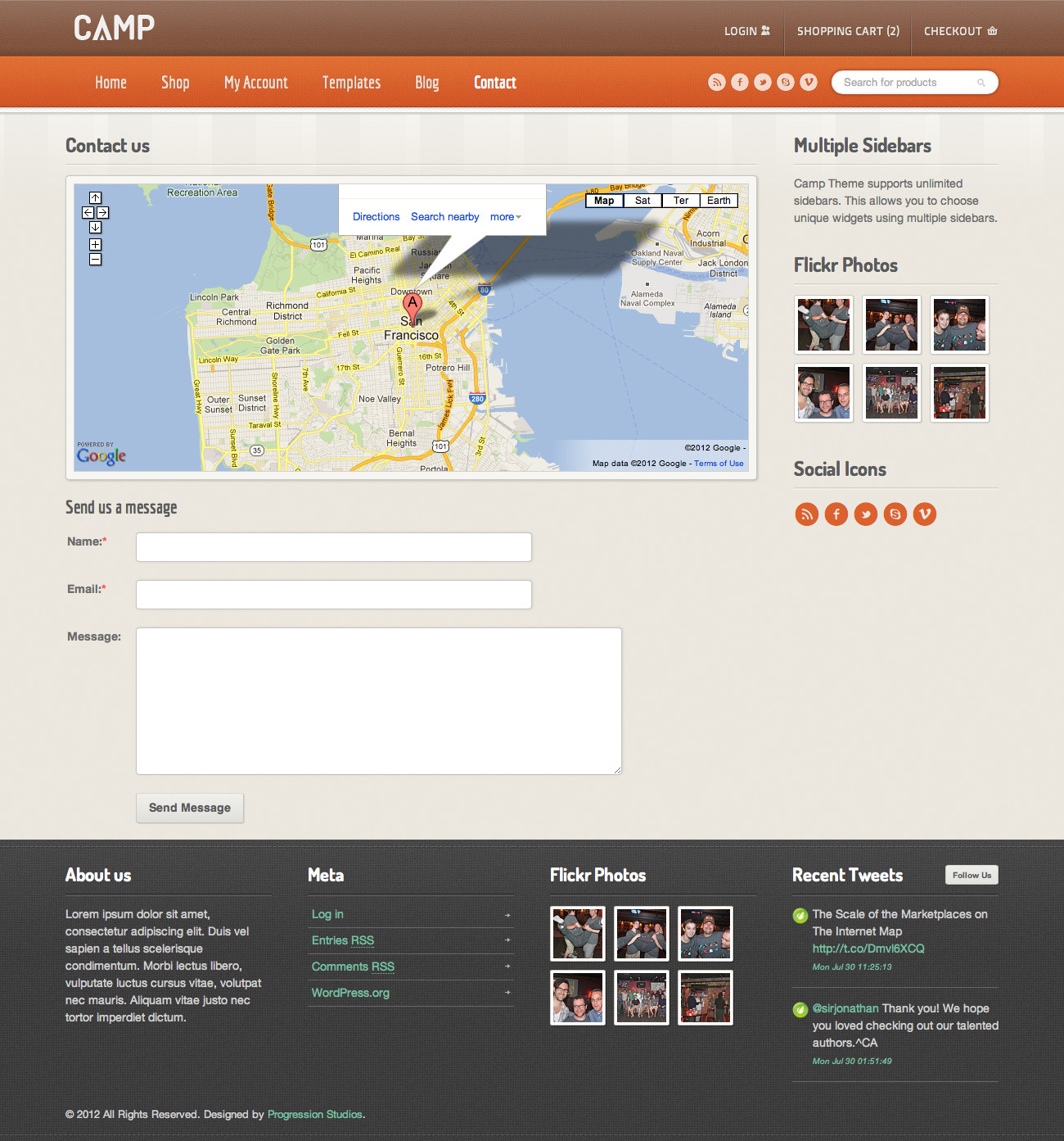 Camp - Responsive eCommerce Theme
