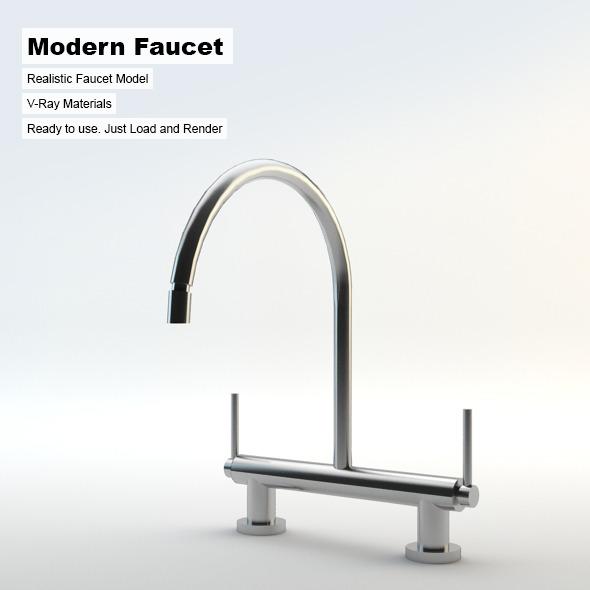 3DOcean Modern Faucet 3103820
