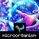 Colorful microorganisms composition - GraphicRiver Item for Sale