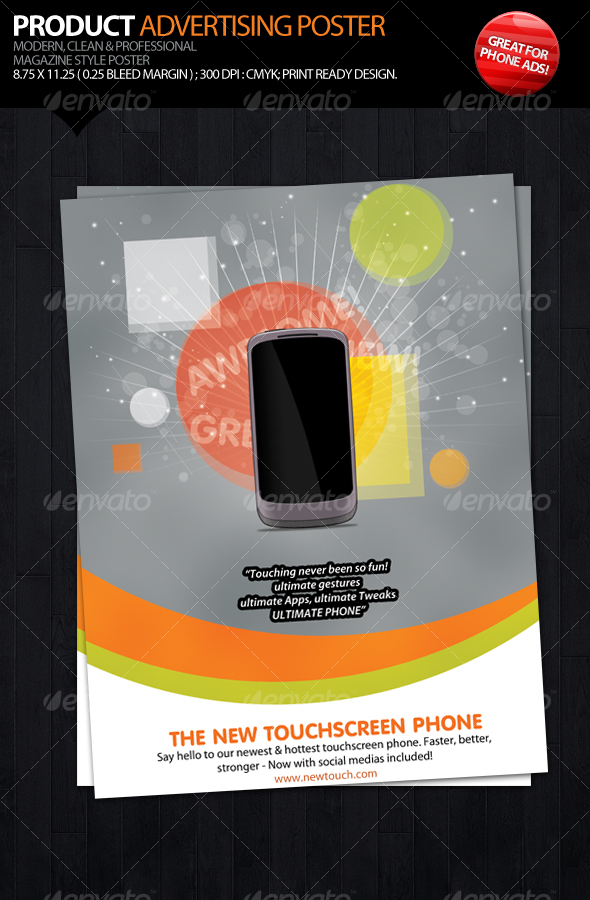 Product Advertising Poster - Commerce Flyers