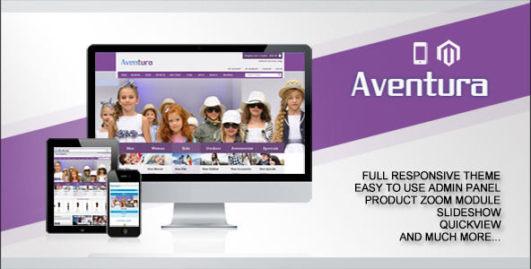 Aventura Responsive Magento Theme