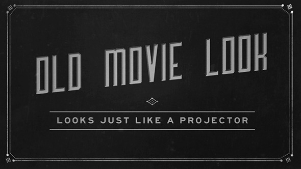 VideoHive Old Film Titles 3107511