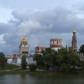 Novodevichy Convent in Moscow  in a cloudy day - PhotoDune Item for Sale