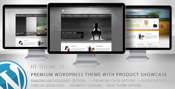 RT-Theme 13 Multi-Purpose Premium Wordpress Theme - Business Corporate