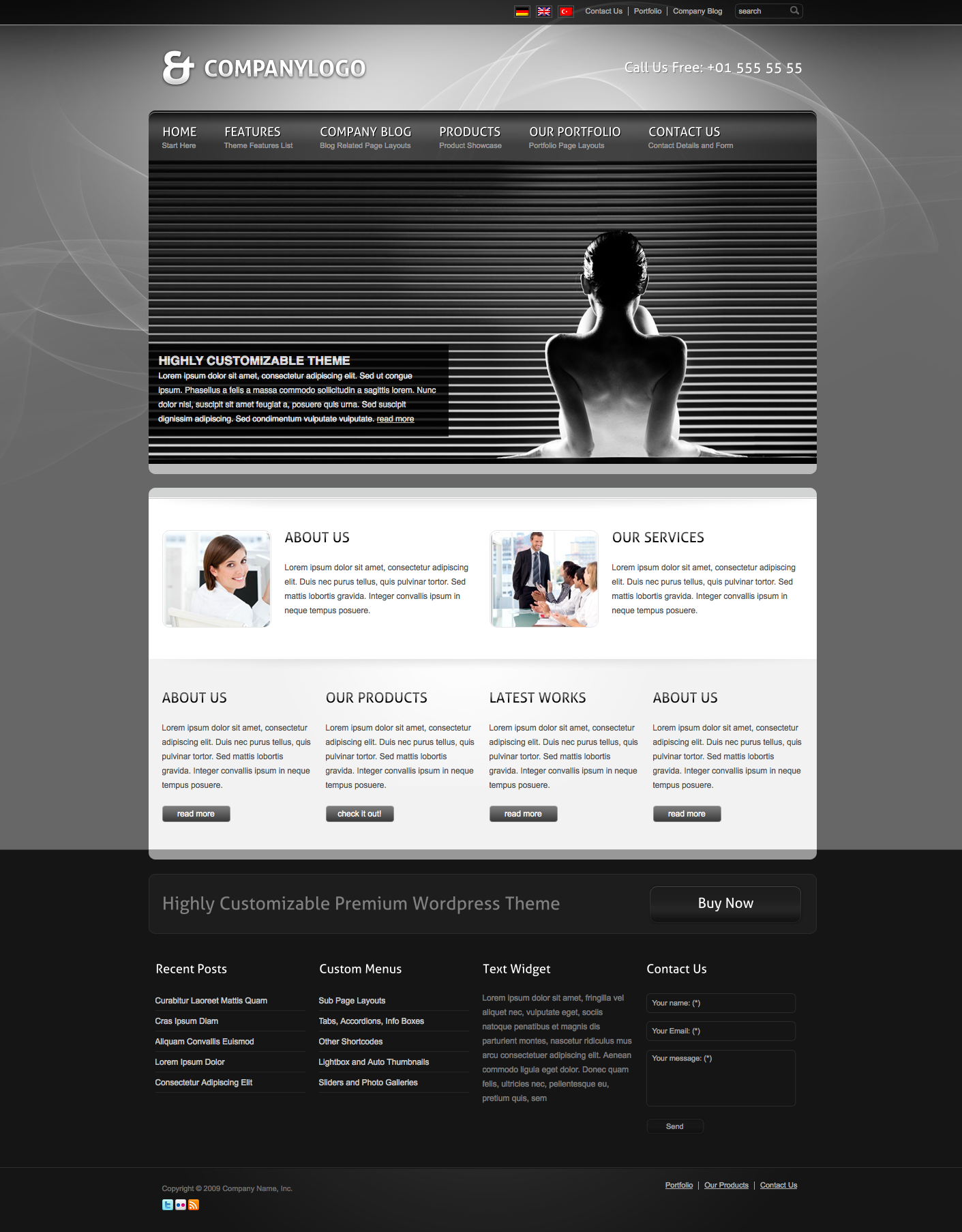 RT-Theme 13 Multi-Purpose Premium Wordpress Theme