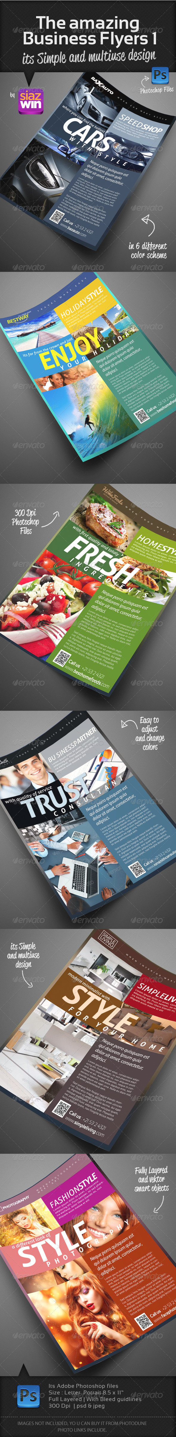 GraphicRiver The Amazing Business Flyers 1 3098658