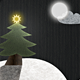 Winter Moon Landscape: Christmas Season - GraphicRiver Item for Sale