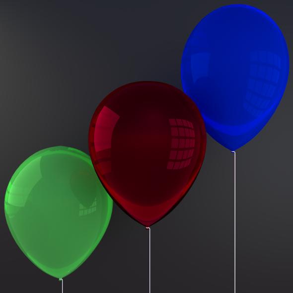 3DOcean Balloons 2074599