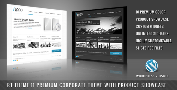 RT-Theme 11 / Business Theme 10 in 1 For Wordpress - Business Corporate