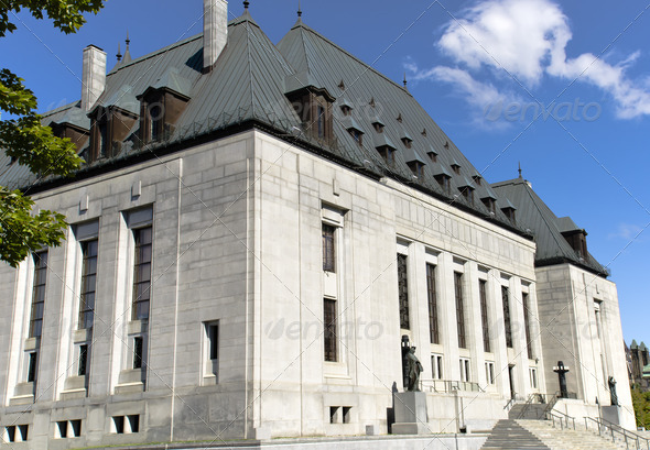 Supreme Court of Canada - Stock Photo - Images