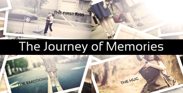 VideoHive The Journey of Memories 3101820