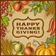 Thanksgiving Retro Card - GraphicRiver Item for Sale