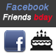 Facebook Friends Birthday Awesome App - CodeCanyon Item for Sale