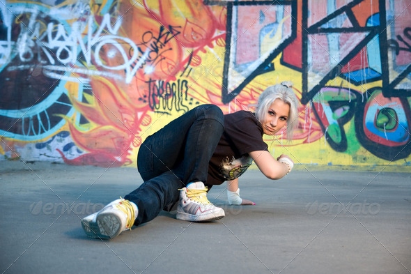 breakdancing - Stock Photo - Images