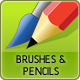 Brushes and Pencils VP - GraphicRiver Item for Sale
