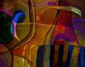 Abstract Art Sun Bird Bright - PhotoDune Item for Sale