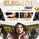 Elegante Nightclub Flyer - GraphicRiver Item for Sale