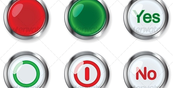 GraphicRiver Buttons 110893