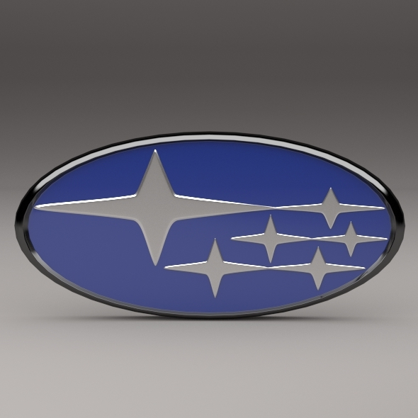 Subaru Logo Vector 3docean Subaru Logo 3135397