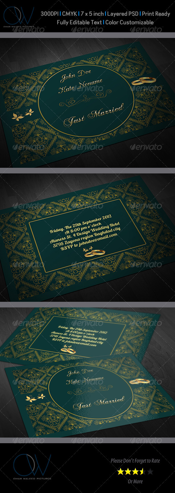 Wedding Invitation Vol.2 - Weddings Cards & Invites