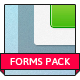 Clean & Simple Forms Pack. - GraphicRiver Item for Sale