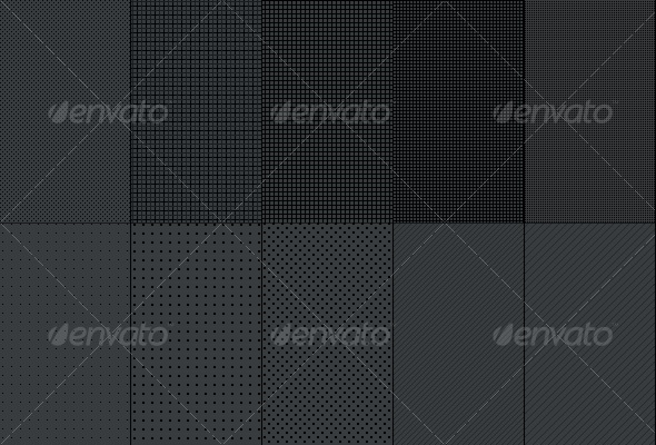 Fiber Carbon Pattern Background - Vol-6 - Textures / Fills / Patterns Photoshop