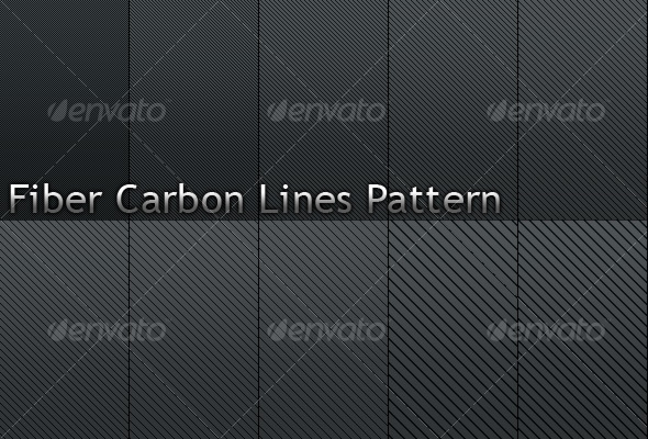 Fiber Carbon Line Patterns-Vol.2 - Textures / Fills / Patterns Photoshop
