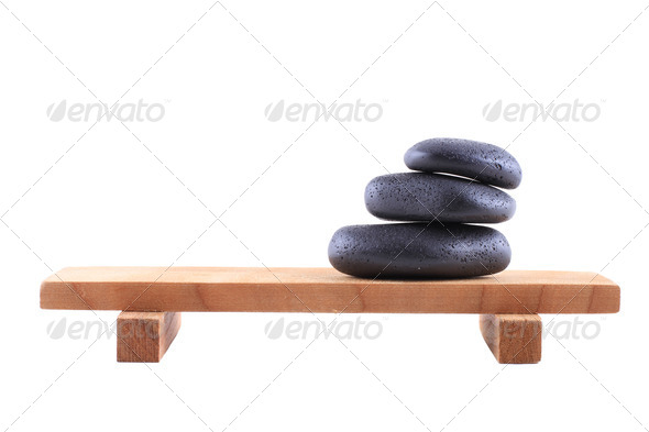 Spa Stones - Stock Photo - Images