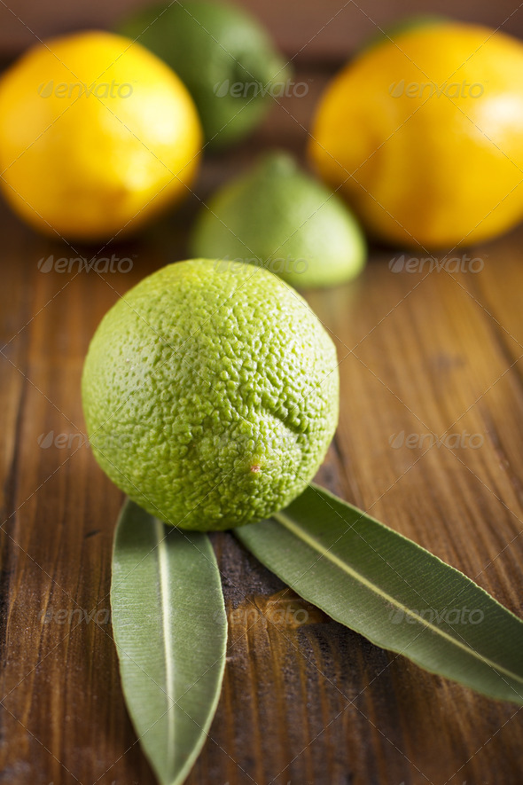 Lime and Lemons - Stock Photo - Images