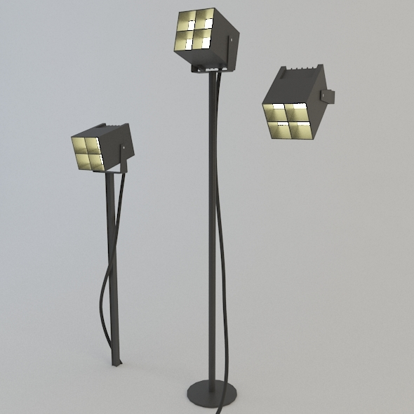 3DOcean MODERN LIGHT SET 05 3142061
