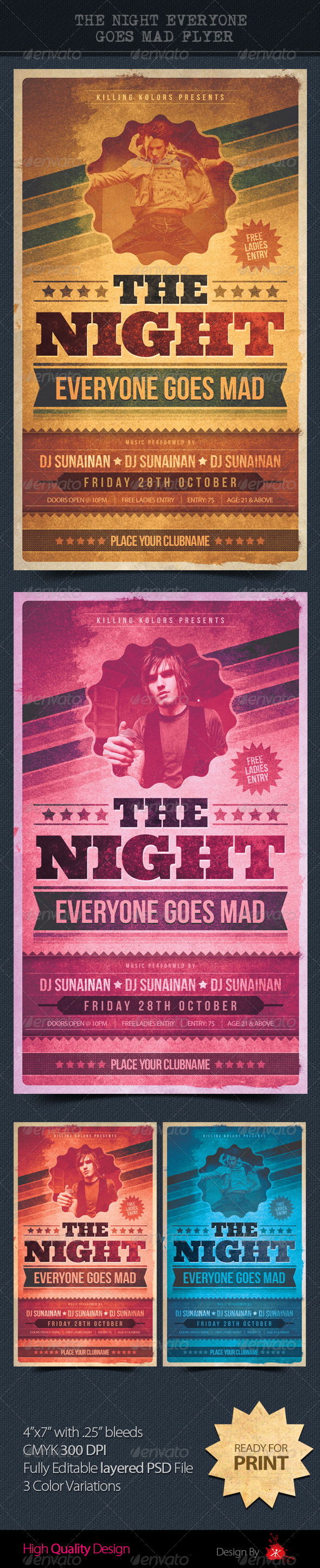 GraphicRiver The Night Everyone Goes Mad 3120632