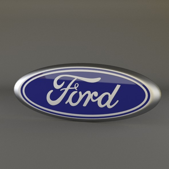3DOcean Ford Logo 3142844