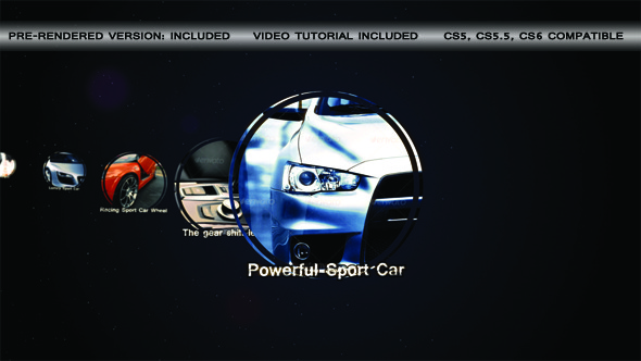 VideoHive Sport Car Slideshow 3145539