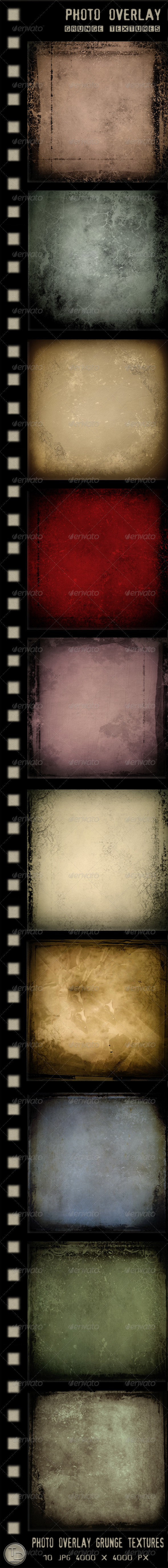 Photo Overlay Grunge Textures - Industrial / Grunge Textures