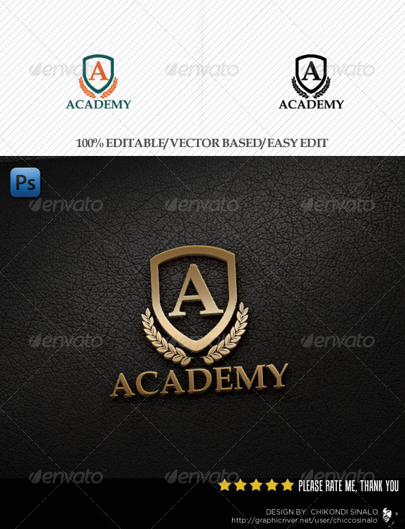 Academy Logo Template - Abstract Logo Templates
