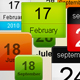 Blog Date Bubbles, Web Icon Calendar - GraphicRiver Item for Sale
